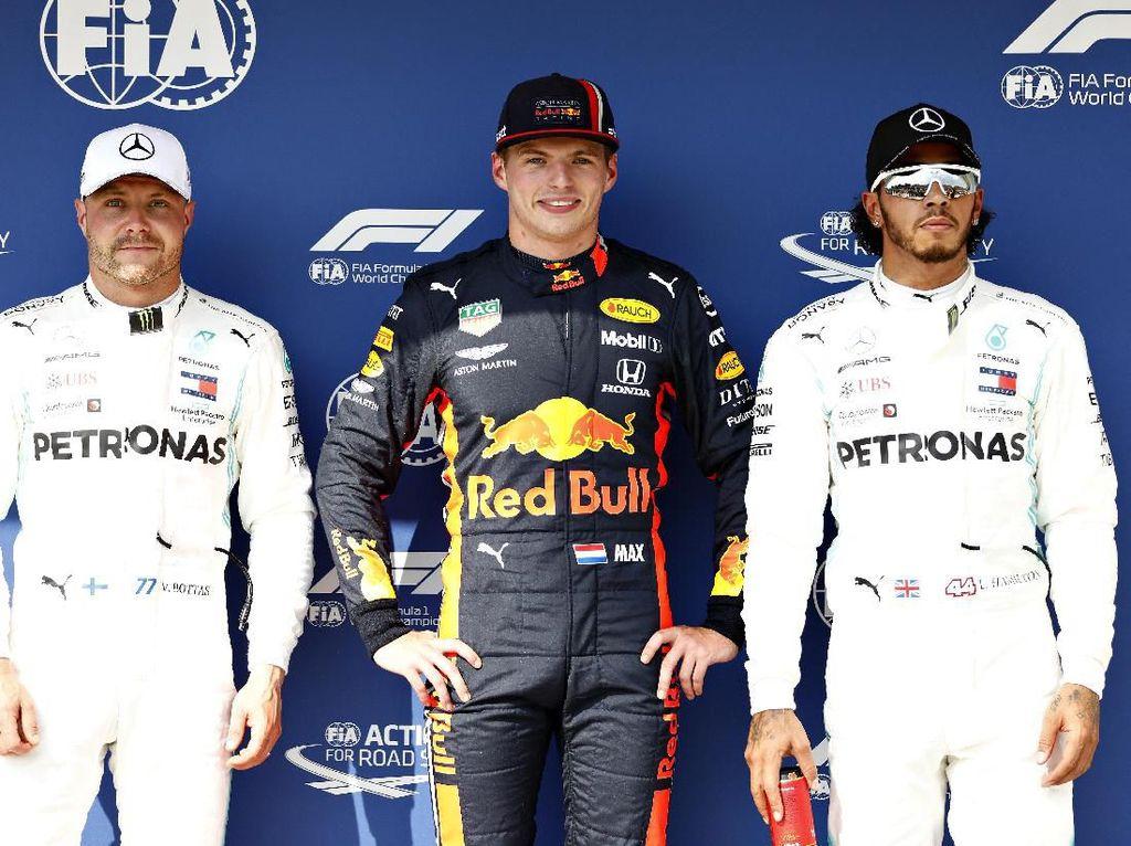 Ungguli Duo Mercedes, Max Verstappen Raih Pole Position GP Hongaria