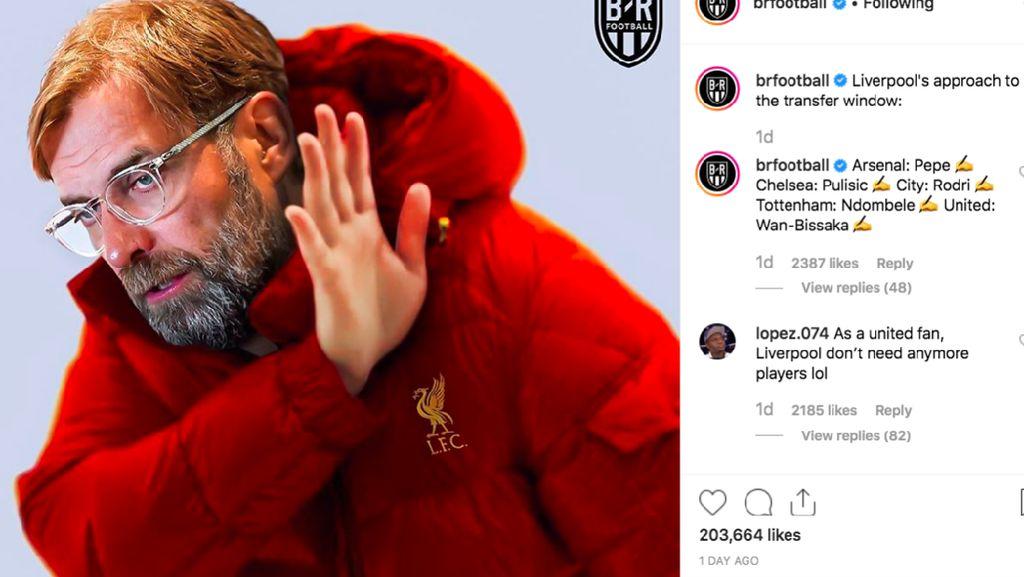 Meme-meme Liverpool yang Payah di Bursa Transfer