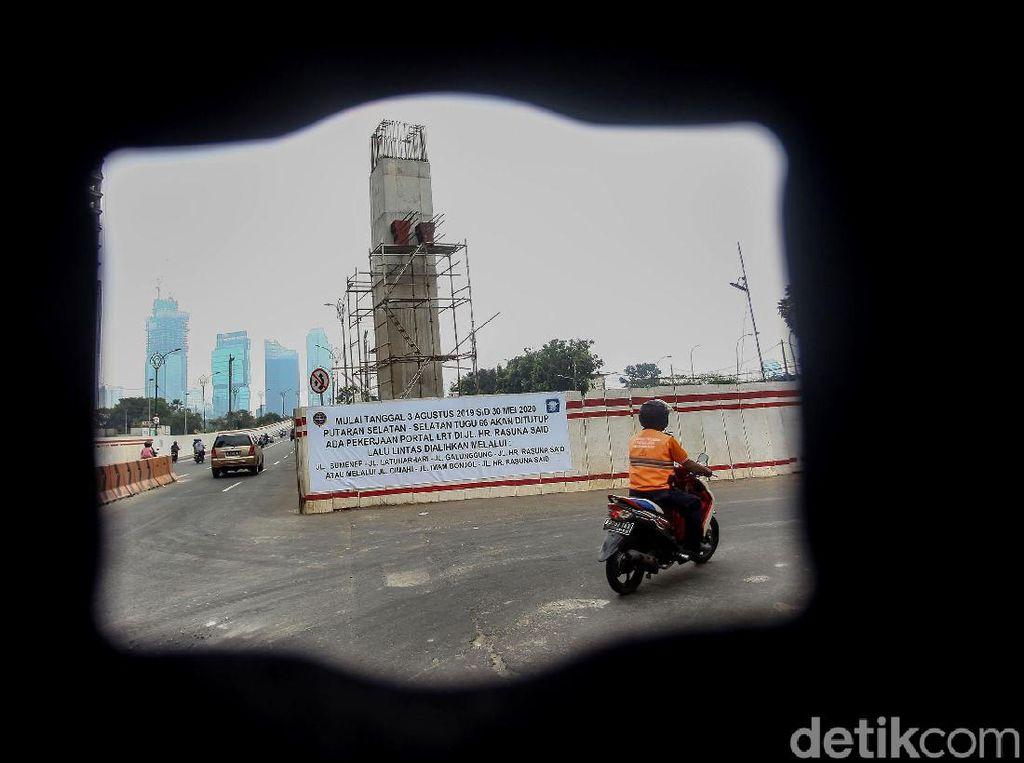 Jalan HR Rasuna Said Direkayasa 10 Bulan Imbas Proyek LRT