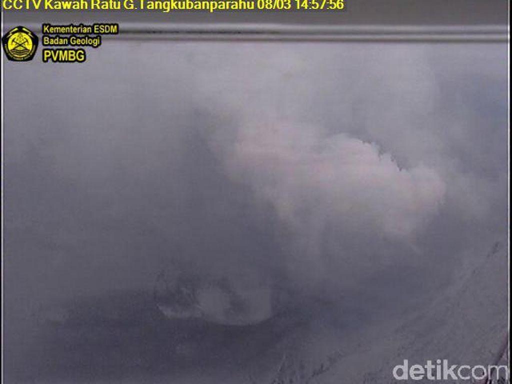 Polda Jabar Siagakan 200 Personel di Sekitar Gunung Tangkuban Perahu
