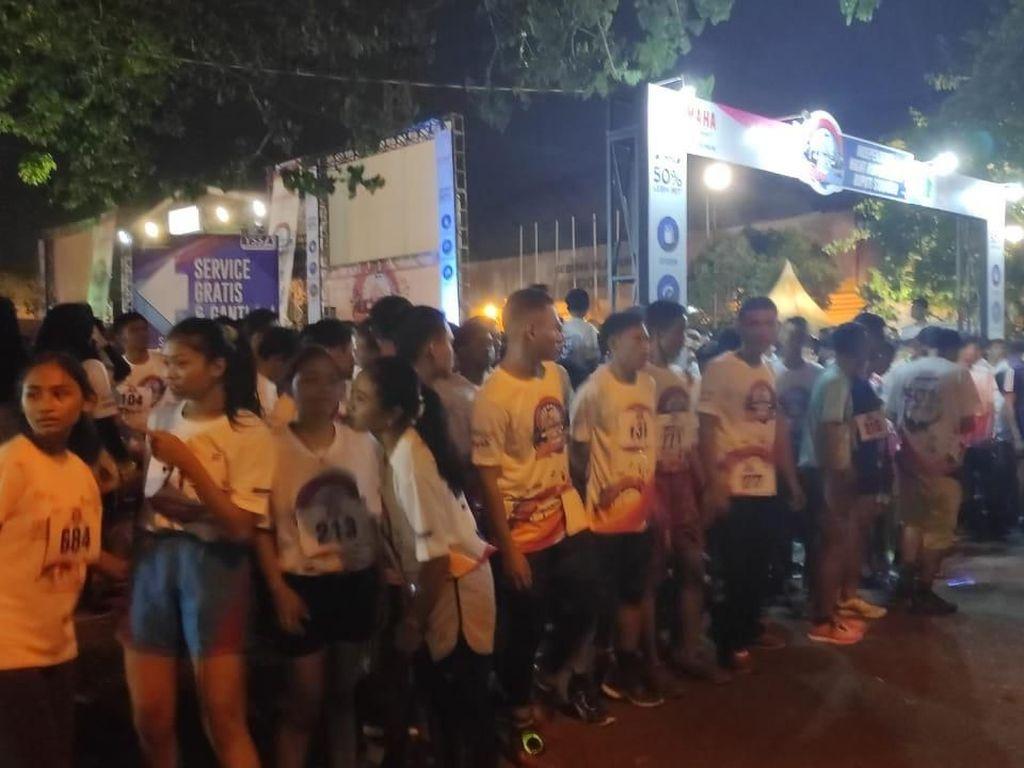 1000 Warga Sidoarjo Lari Malam Hari Sejauh 5 Km, Ada Apa?