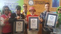 Mantap! 2 Rekor Selam Guinness World Pecah di Manado