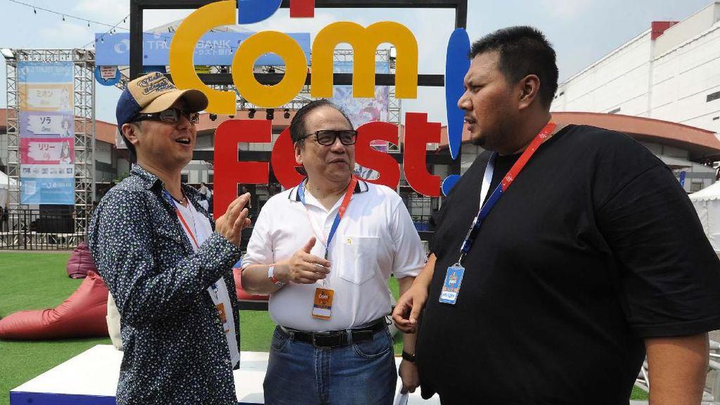 Keseruan Jicomfest di Jakarta