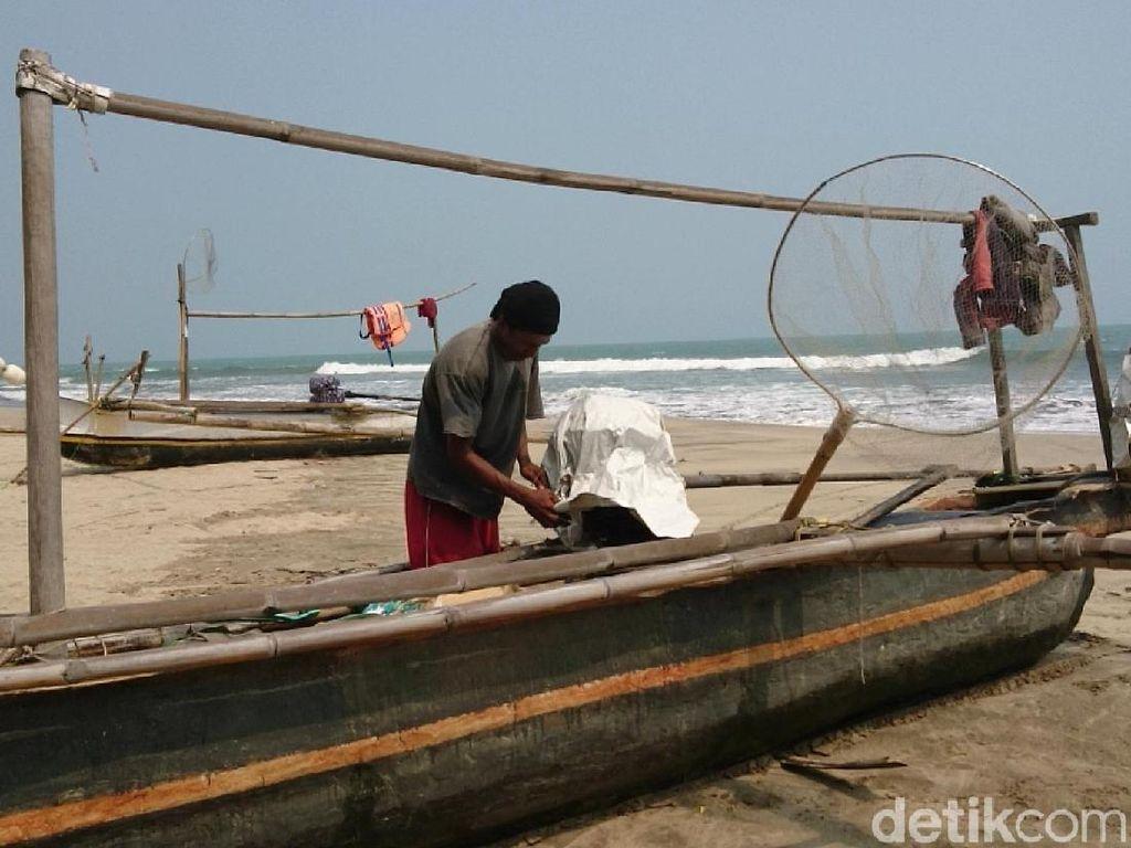 Nelayan Anyer Batal Melaut Saat Gempa M 6,9, Sempat Lihat Ombak 1,5 Meter