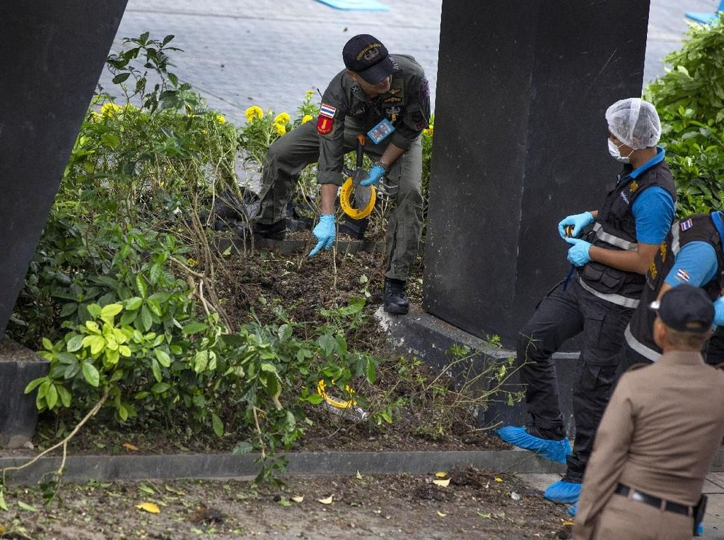 Thailand Kaitkan Rentetan Ledakan Bom di Bangkok dengan Pemberontak