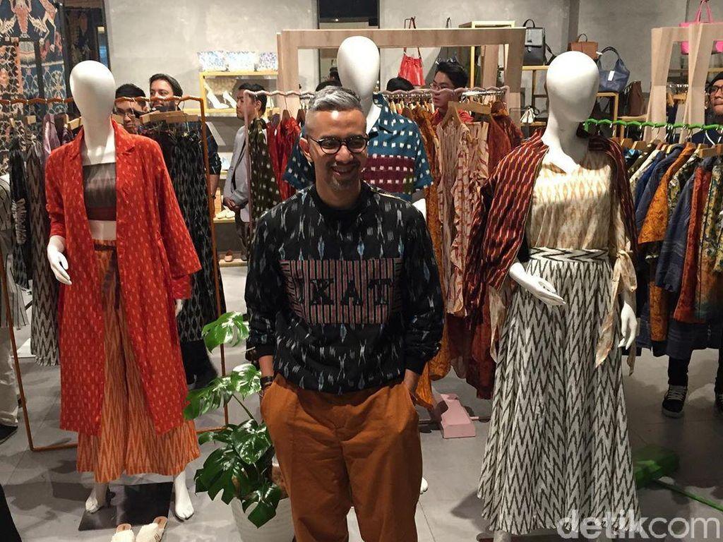 Optimisme Didiet Maulana Pasca-Pilpres di Koleksi Baju Mentari 2019