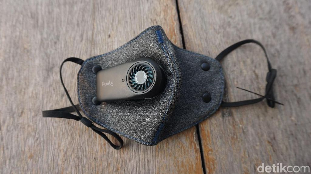 Ini Lho, Masker Exhaust Pakai Baterai yang Lagi Ngetren