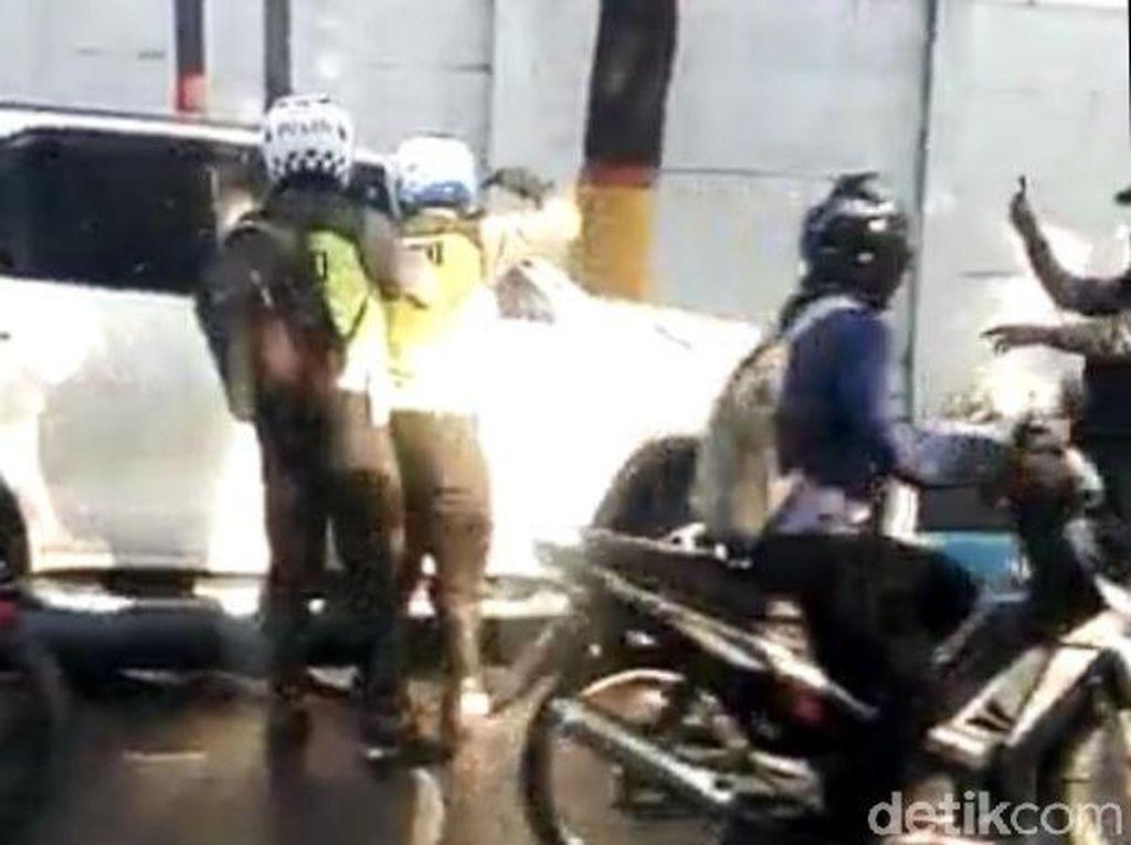 Cerita Polisi Kejar dan Todongkan Pistol ke Pelaku Tabrak Lari di Mojokerto
