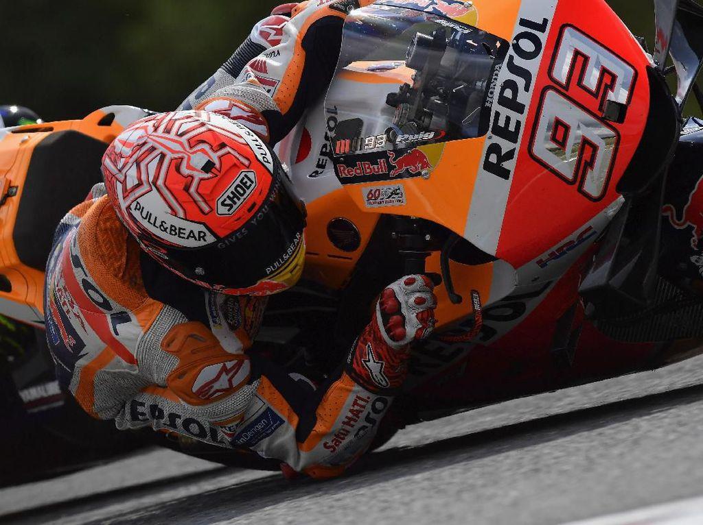 Marquez Tercepat di FP3 MotoGP Austria