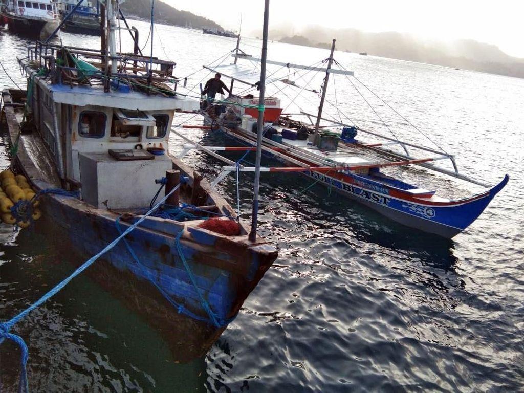 Nggak Kapok, 2 Kapal Maling Ikan Asal Filipina Ditangkap Lagi