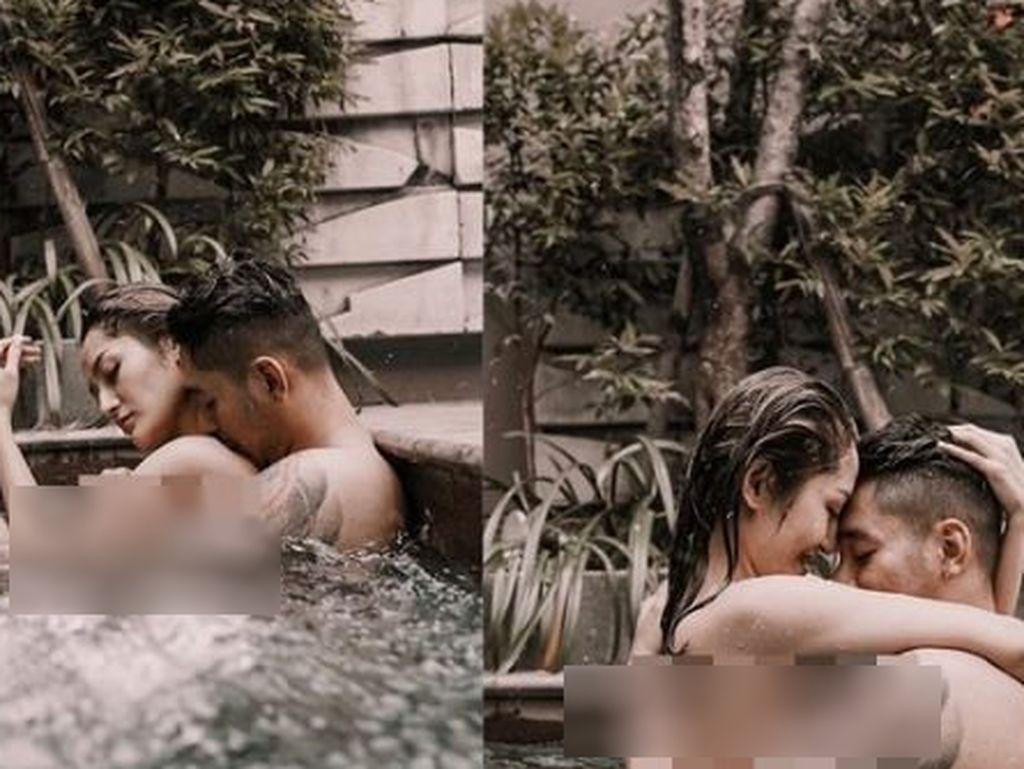 Foto Mandikan Suami Dihujat, Siti Badriah: Netizen Mikirnya Jorok