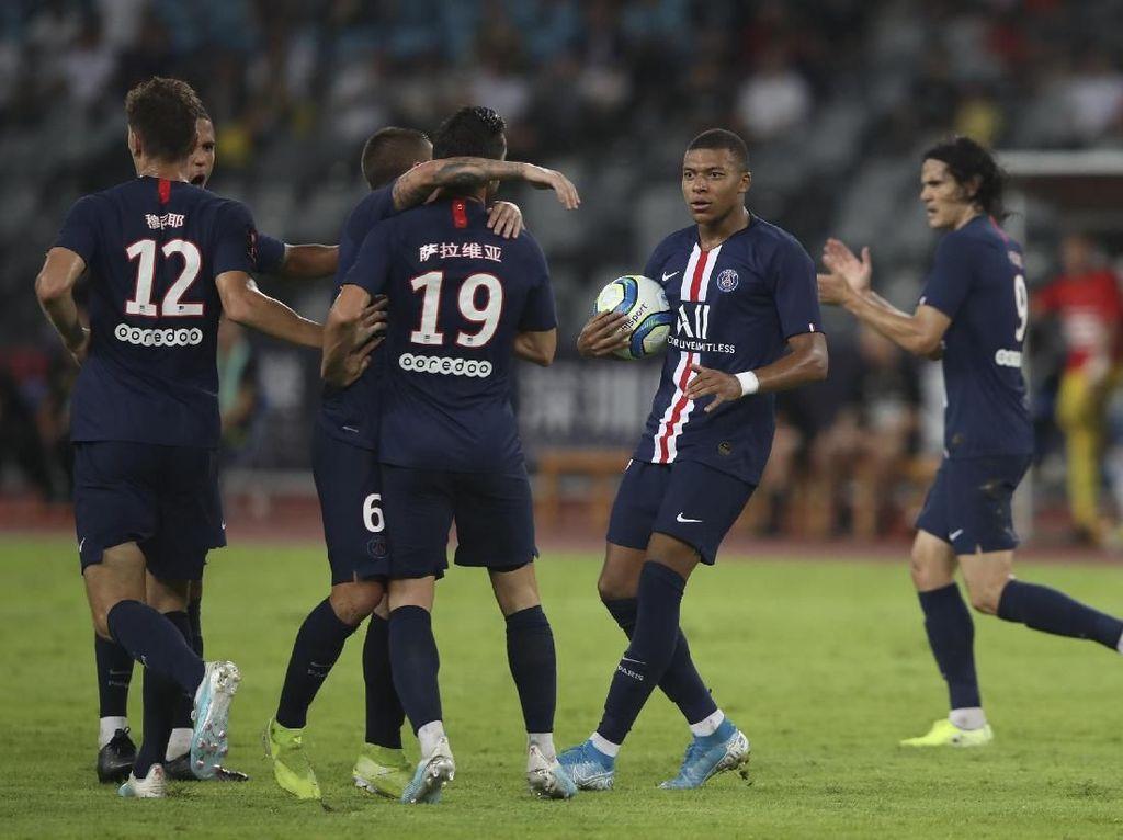 Tanpa Neymar, PSG Kalahkan Rennes dan Juara Piala Super Prancis