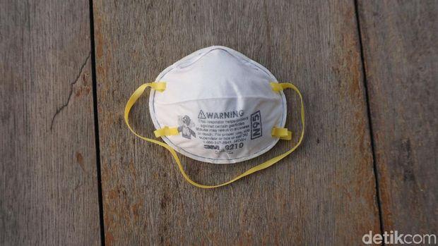 Masker N95 paling banyak disarankan oleh dokter paru.
