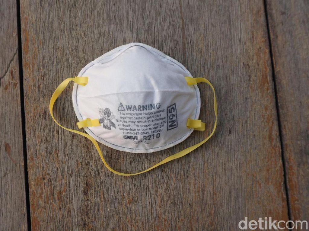 Masker N95 Bisa Dipakai Sampai 3 Kali, Bagaimana Cara Mensterilkannya?