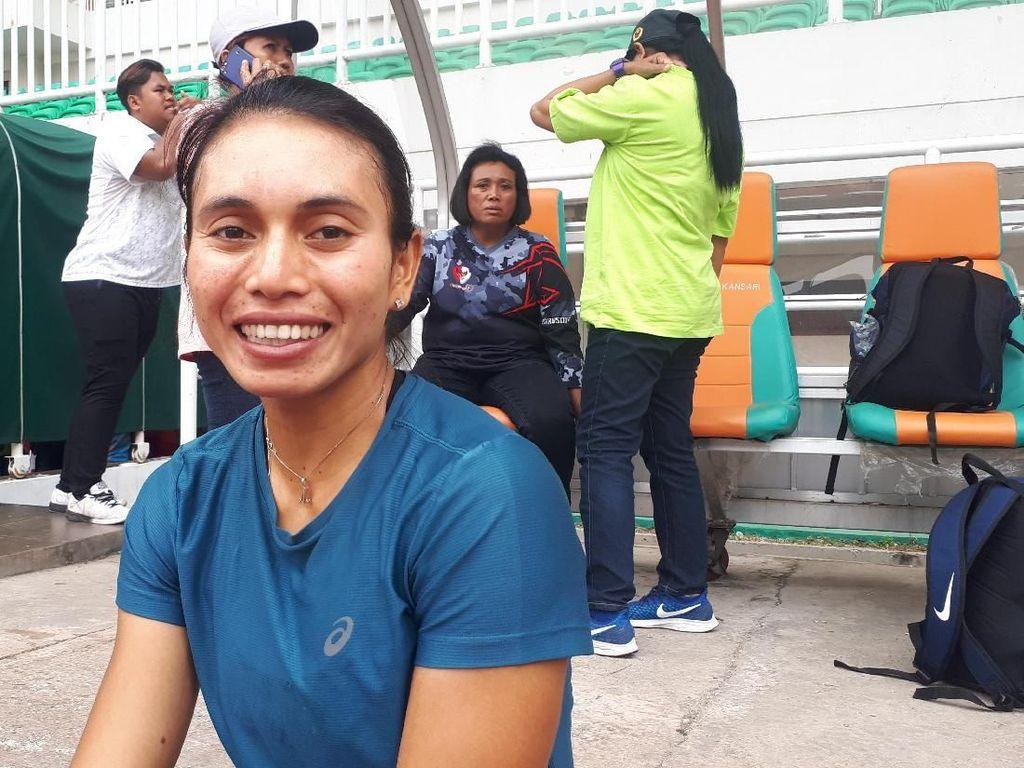 Rebut Emas Kejurnas Atletik, Maria Londa Lebih Waspada Hadapi SEA Games