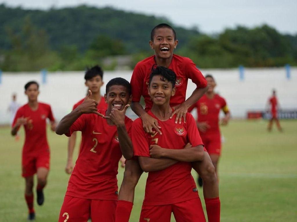 Babak I Indonesia Vs Vietnam: Garuda Muda Tertahan 0-0