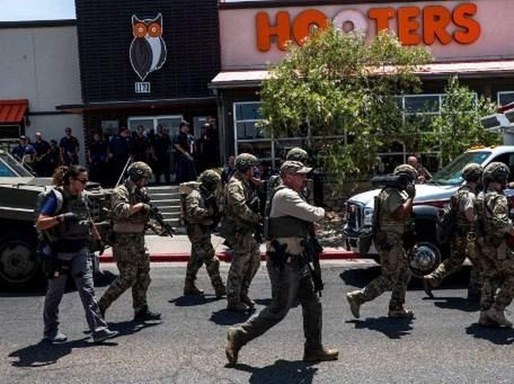 Polisi: Tersangka Penembakan di El Paso Berusia 21 Tahun