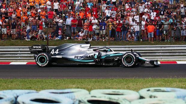 Hasil FP3 F1 Belgia: Leclerc Tercepat, Hamilton Tabrak Pagar