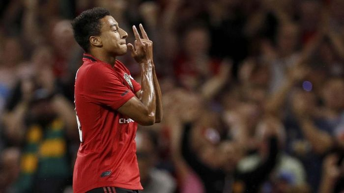 Jesse Lingard tak memuaskan fan Manchester United (Action Images via Reuters/John Sibley)
