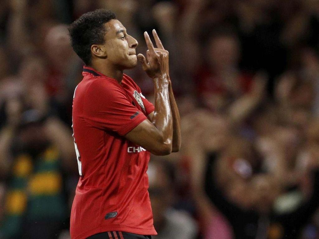 Lingard Cuma Punya 1 Asisst dan 0 Gol di 2019, Fan MU: Jual Saja Dia