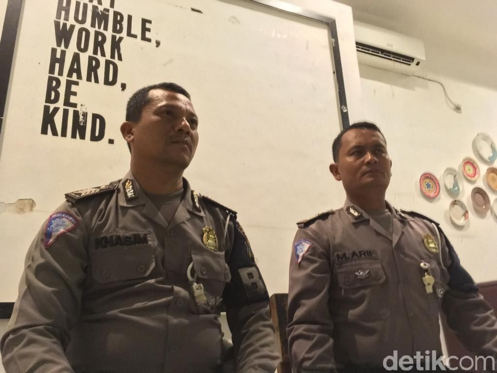 Pelaku Tabrak Lari Ditodong Pistol Polisi Terancam Hukuman 5 Tahun Penjara