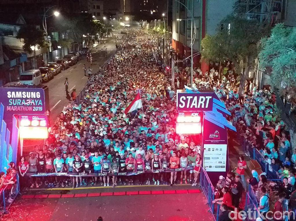 Ribuan Pelari Dalam dan Luar Negeri Ikuti Surabaya Marathon 2019