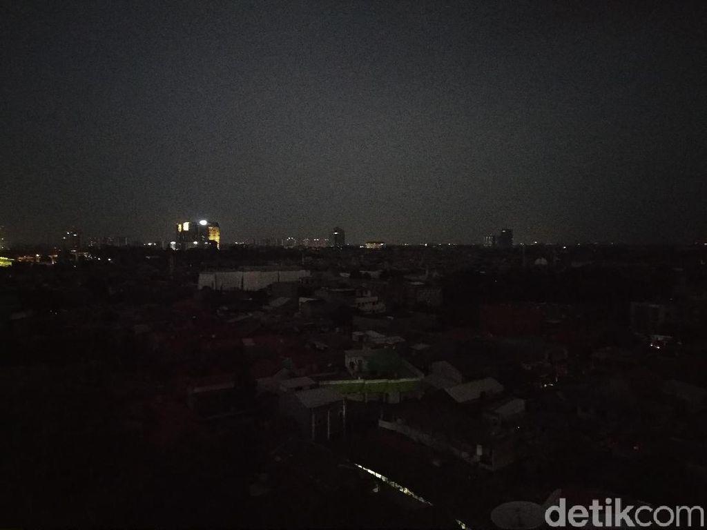 Gelapnya Jakarta Saat Listrik Padam Massal Hingga Malam