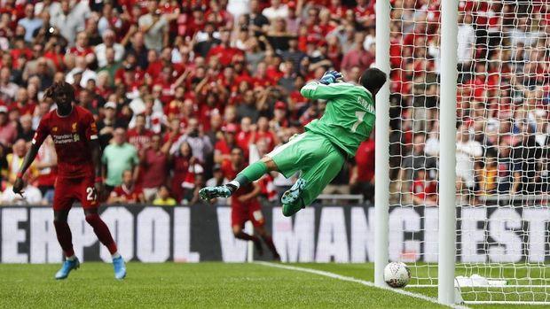 Liverpool memiliki sejumlah peluang emas yang terbuang.