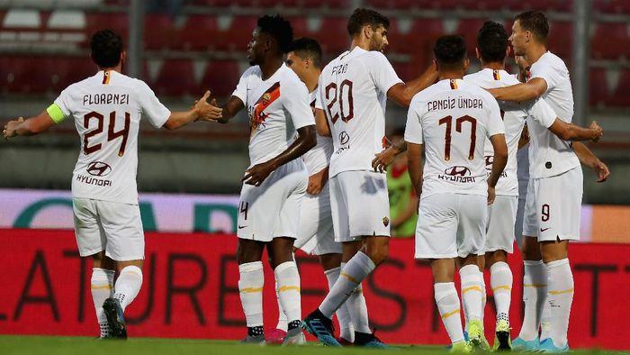 AS Roma menang 3-2 atas Lille dalam laga pramusim (Foto: Paolo Bruno/Getty Images)