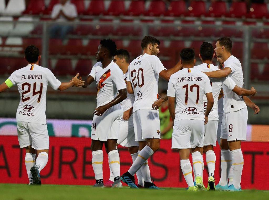 Laga Pramusim: Drama Lima Gol, Roma Atasi Lille 3-2