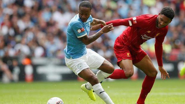 Community Shield Tegaskan Jarak Tipis Man City dan Liverpool