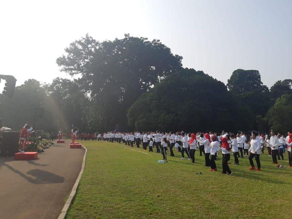 Jokowi Gathering Keluarga di Istana Bogor, Menteri Kabinet hingga Anies Hadir