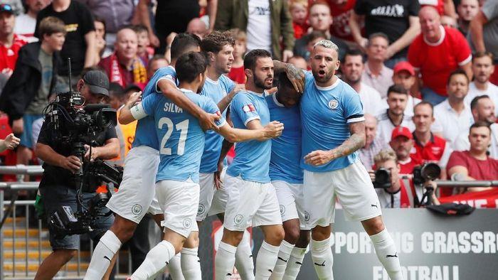 Manchester City juara Community Shield usai kalahkan Liverpool via adu penalti (REUTERS/David Klein)