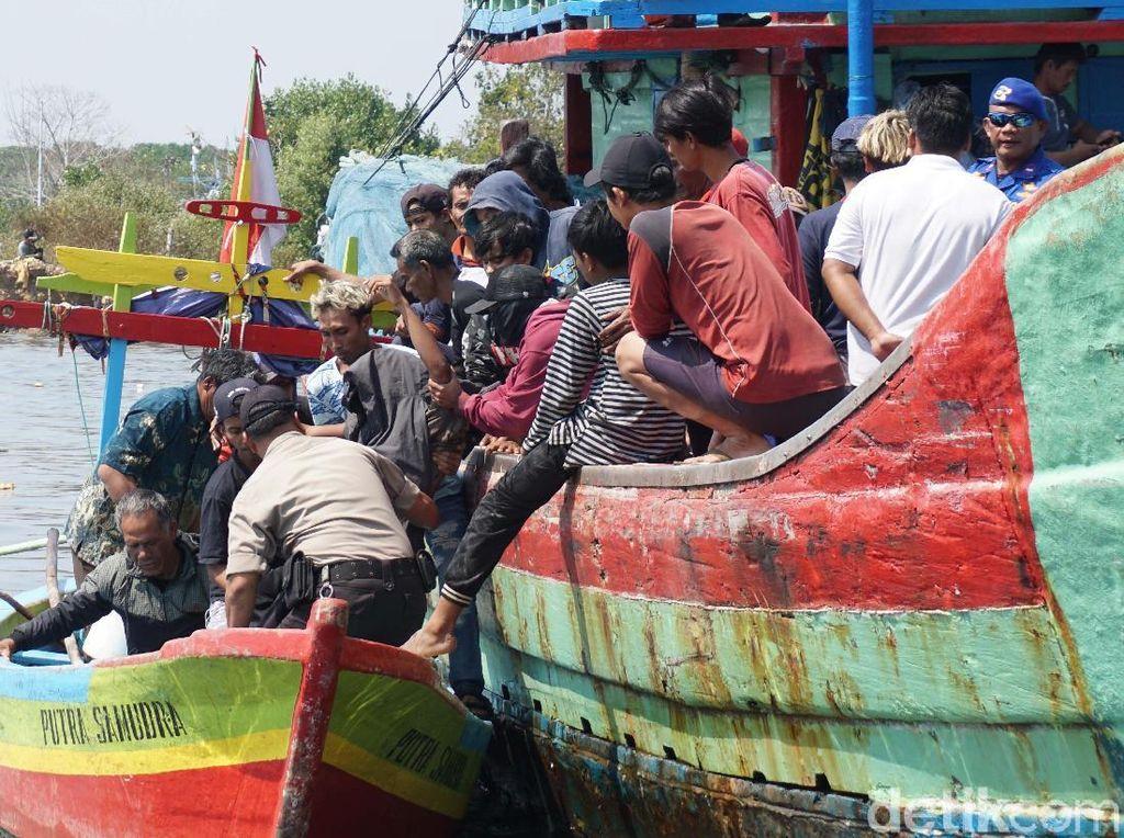 Jenazah 4 Korban Tewas Tenggelamnya KM Pieces Tiba di Pekalongan