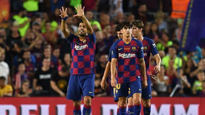 Barcelons sukses raih Joan Gamper Trophy usai kalahkan Arsenal 2-1 (Foto: David Ramos/Getty Images)