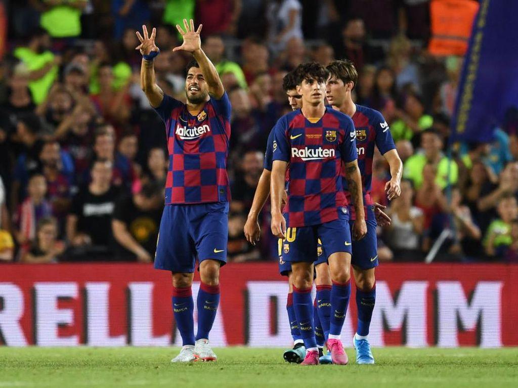 Taklukkan Arsenal 2-1, Barcelona Raih Joan Gamper Trophy