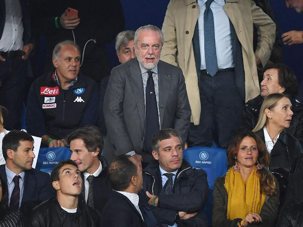 Positif Corona, Presiden Napoli: Aku OTG