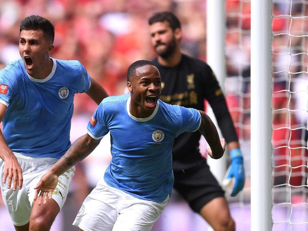 Raheem Sterling Akhirnya Bisa Membobol Liverpool