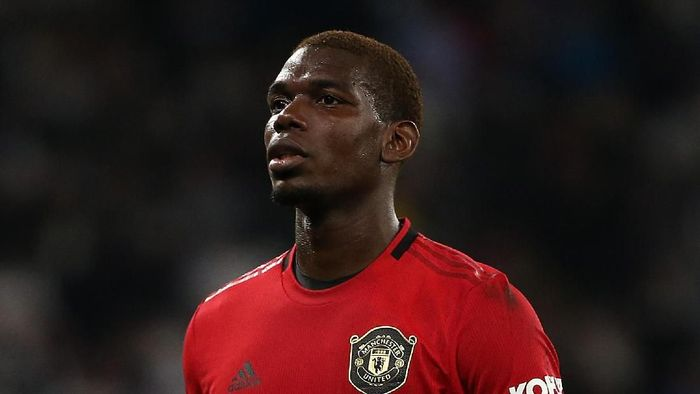 PERTH, AUSTRALIA - JULY 17: Paul Pogba of Manchester United looks on during a pre-season friendly match between Manchester United and Leeds United at Optus Stadium on July 17, 2019 in Perth, Australia. (Photo by Paul Kane/Getty Images)
