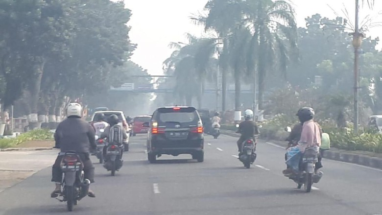 Imbas Karhutla, Kualitas Udara Pekanbaru Tidak Sehat