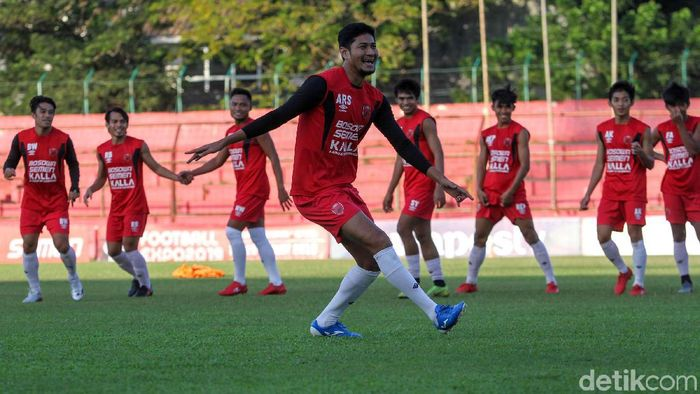 Abdul Rahman Sulaeman diharapkan fit membela PSM Makassar di leg I playoff AFC Cup. (Foto: Rifkianto Nugroho/detikcom)