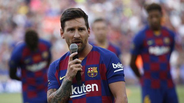 Sosok Messi tetap dikagumi Ronaldo. (