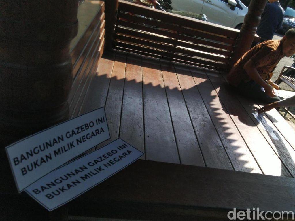Dipolisikan oleh Ketua PN Semarang, Ini Kata Penyegel Gazebo