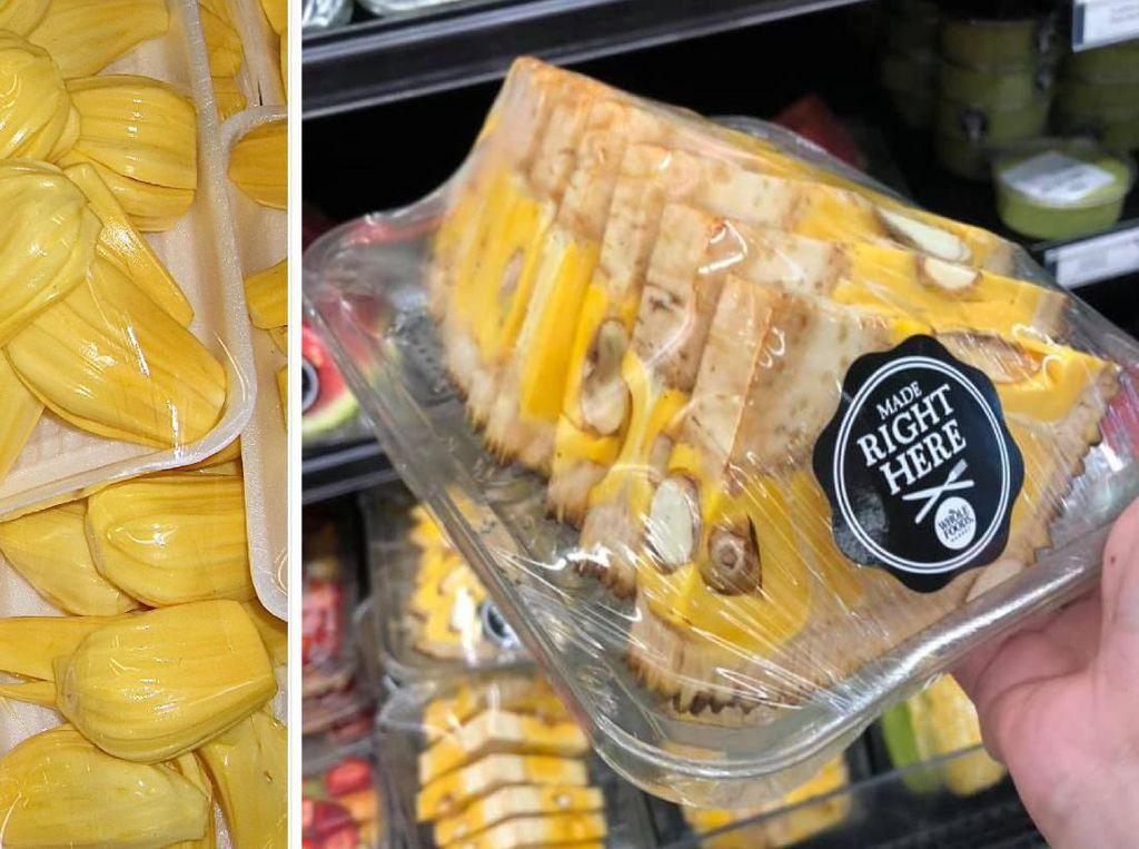 Potong Nangka Kayak Semangka, Supermarket Ini Bikin Heran Orang Asia