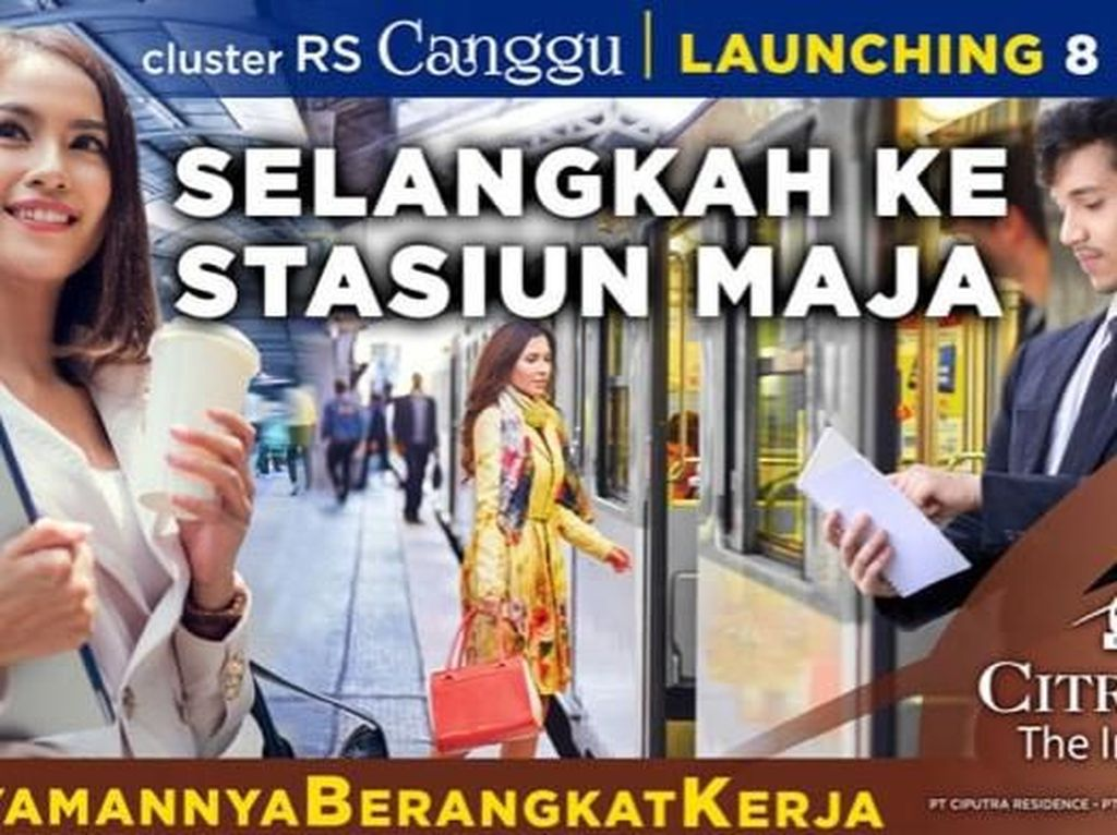 Ciputra Group Launching Rumah dengan Cicilan Rp 1 Jutaan