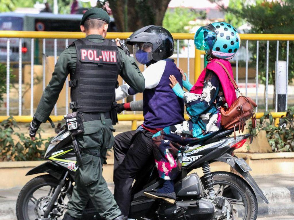 Aksi Satpol PP Tampar Warga Tak Bermasker di Sabang Berujung Sanksi
