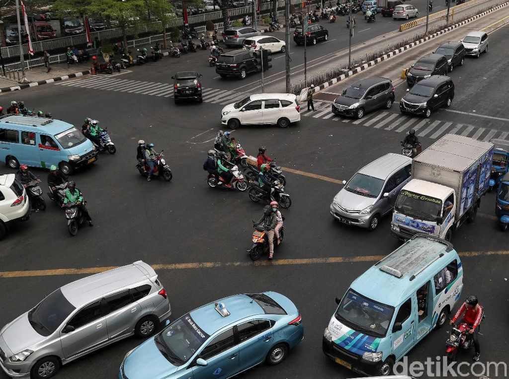 Imbas Listrik Padam, 21 Traffic Light di Jakarta Belum Menyala