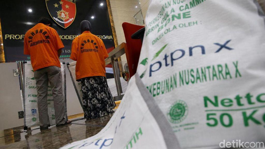 Bareskrim Polri Bekuk Lima Tersangka Terkait Gula Rafinasi