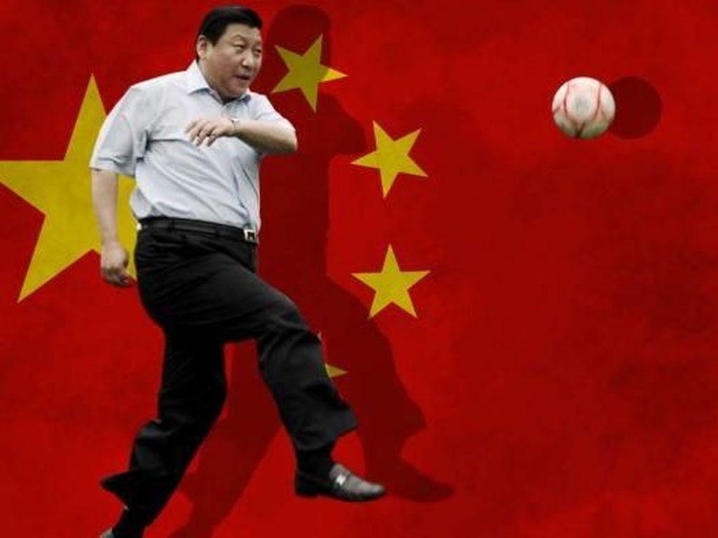 China Bertekad Jadi Super Power Sepakbola di Tahun 2050