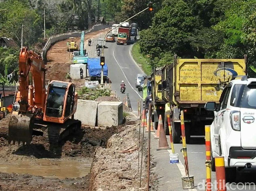 Tanjakan Kethekan Penghubung Semarang-Yogya Ditutup Sementara Besok